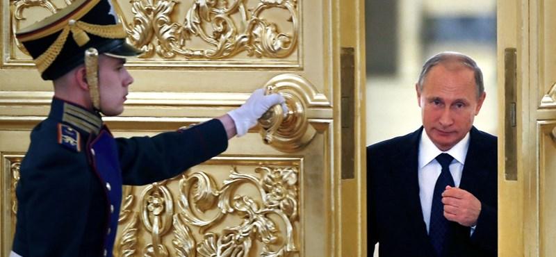 Nagy pácban van Putyin