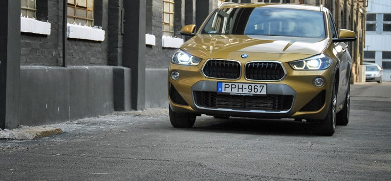 Oldalhelyes dízeles: nyúzópróbán a BMW X2 25d divatterepjáró