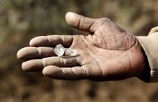 Hatalmas gyémántláz robbant ki Dél-Afrikában, de kiderült, hiába