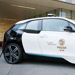 Ez lesz a jövő: 100 darab elektromos BMW üldözi a bűnt Los Angelesben
