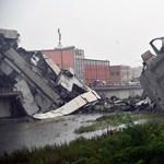 Leszakadt egy híd Genovában, sokan meghaltak