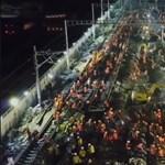 Mészáros beájulna, ha látná, hogyan lehet kilenc óra alatt felhúzni egy vasútállomást (videó)