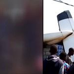 Lakóházakba csapódott egy utasszállító gép Kongóban, legalább 24-en meghaltak