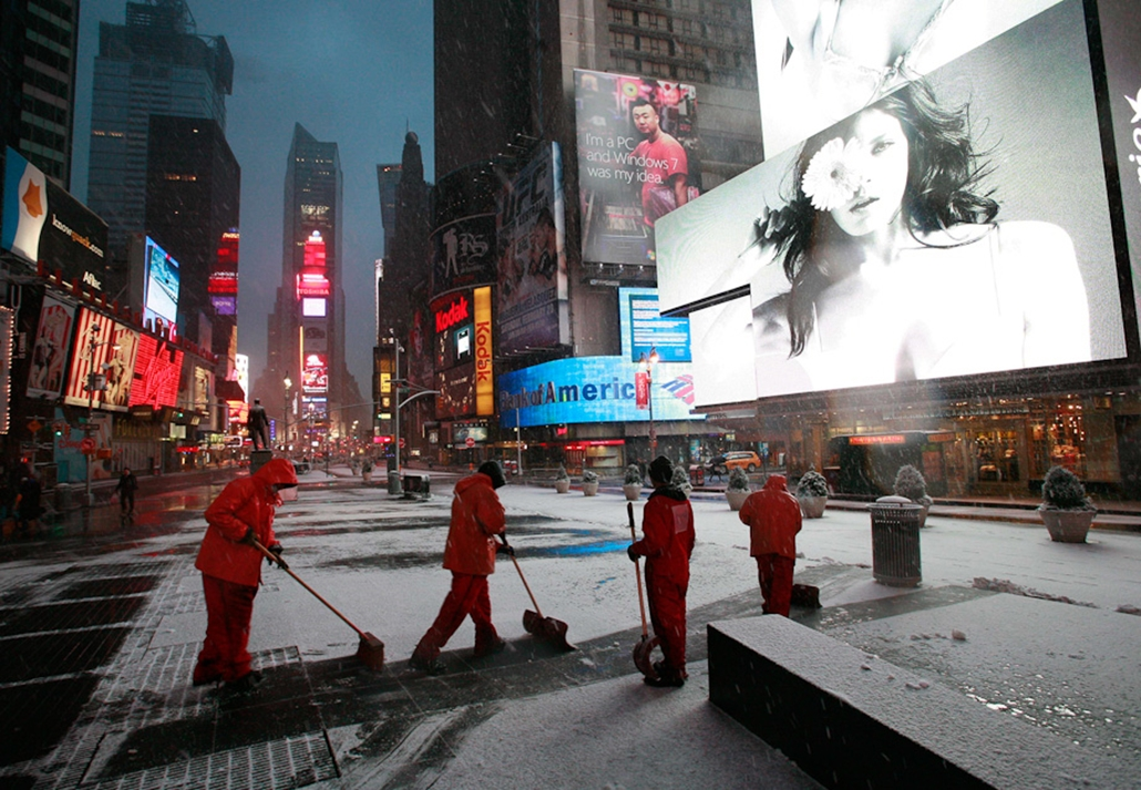 havazás hó nagyítás amerika USA