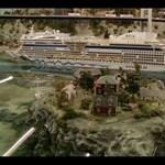 A világ legnagyobb élő terepasztala (videó)
