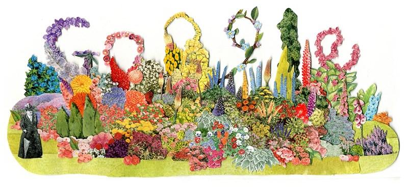 Miért van ma ez a rengeteg virág a Google kereső főoldalán, és ki az a Gertrude Jekyll?