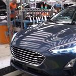 Ha van 8 perce, ezen a videón megnézheti, hogyan készül az új Ford Focus