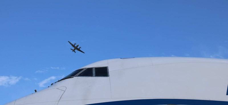 Egy speciális repülő körözött két napon át Ferihegy fölött – fotók