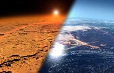 Rengeteg metánt találtak a Mars légkörében, az élet jelenlétére utalhat