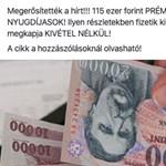 115 ezer forintos átverés terjed a neten, a nyugdíjasokat célozzák