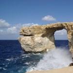 Fotó: Összeomlott Málta egyik fő látványossága