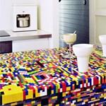 Egyedi konyhabútor LEGO-ból