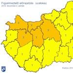 Dühöngő szél miatt adtak ki figyelmeztetést az egész országra – térkép