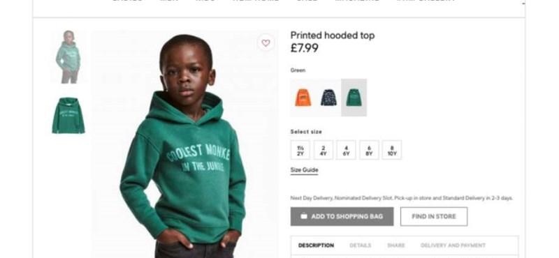 """""""Tegyétek túl magatokat rajta"""" – megszólalt a botrányos H&M-es pulcsit viselő kisfiú édesanyja"""