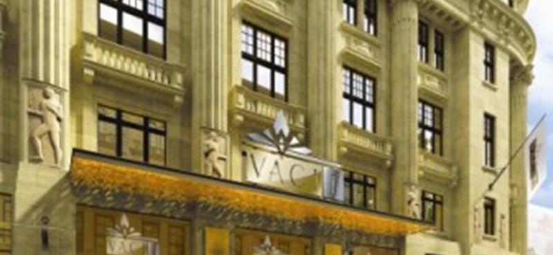 Tetőtéri luxusétterem épül a Vörösmarty téren