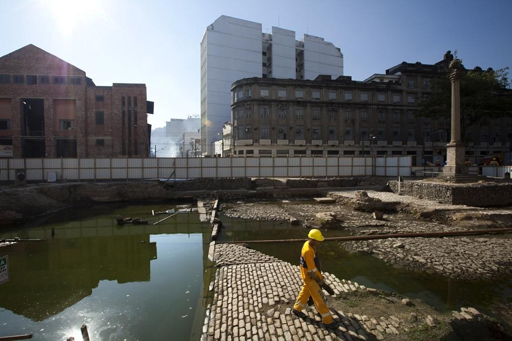 Olimpiai előkészületek Rióban - Nagyítás-fotógaléria