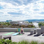 Zöld otthon a nagyvárosban: élettér a tetőn, privát kert a lakáshoz