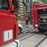 Tűz ütött ki egy budapesti kórházban