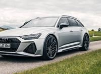 Még sportosabb lett a 740 lóerős kombi Audi RS6