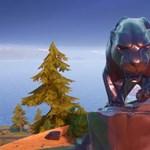 Hatalmas Fekete Párduc-szobor jelent meg a Fortnite-ban, özönlenek hozzá a játékosok