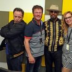 Jamie Foxx a Class FM vendége volt, még Rúzsa Magdit is énekelt – videó