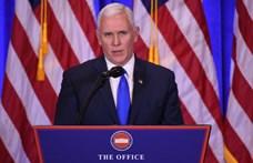 """Kína """"agresszív gazdasági terjeszkedését"""" bírálta az amerikai alelnök"""