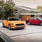 Itt a nekünk szánt új Ford Mustang: szebb, erősebb és már 10 sebességes