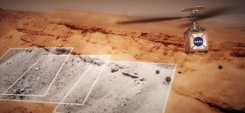 Eldőlt: a NASA egy helikoptert küld a Marsra, hogy jobban feltérképezze a bolygót