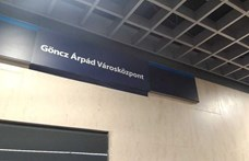Január végétől Göncz Árpád nevét viseli az Árpád híd metróállomás