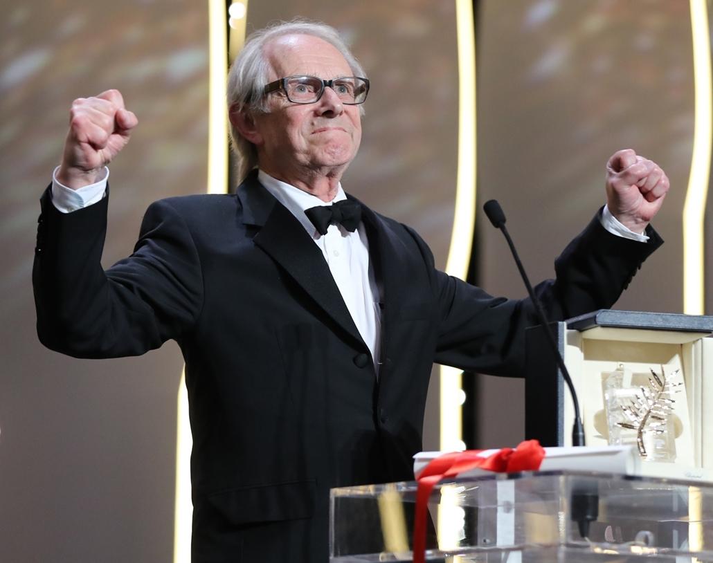 20160523005 afp.16.05.22. -  Ken Loach Cannes-ban