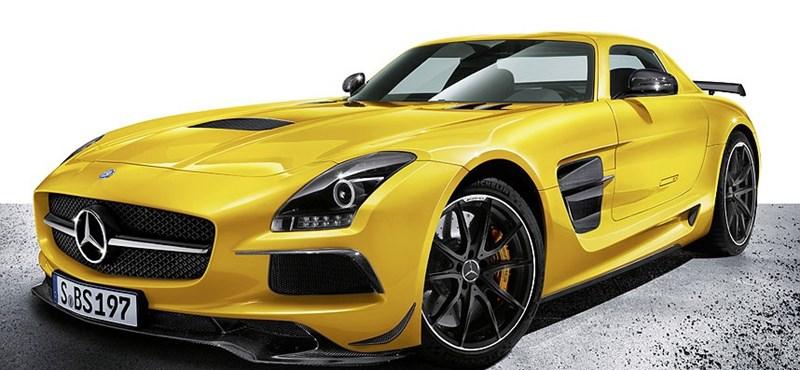 Tovább vadította a sirályszárnyú SLS-t a Mercedes - fotók