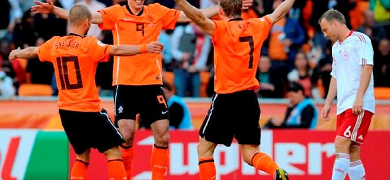 Kétgólos holland győzelemmel indult a focivébé hétfői napja