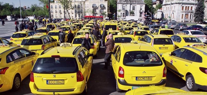 Néhány taxis egy napot sem várt, már most megemelte az árakat