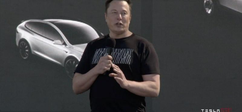 Trumpot perli a Tesla a kínai alkatrészek büntetővámja miatt