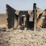 A földdel tett egyenlővé egy teljes falut a Boko Haram
