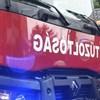 Kigyulladt egy jászberényi akkumulátorgyár, tíz város tűzoltói dolgoznak az oltáson
