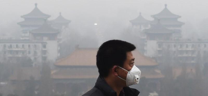 Iskolákat zártak be a durva kínai szmoghelyzet miatt