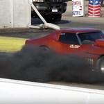 Egy olajfinomító füstje szerényebb, mint ezé a dízel Chevrolet Corvette-é
