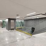 Így néznek ki a felújított metróállomások, amelyeket egy hét múlva adnak át