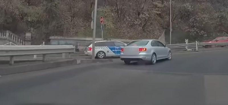 Fegyelmi eljárás indult a Hegyalja úton többszörösen szabálytalankodó rendőr ellen