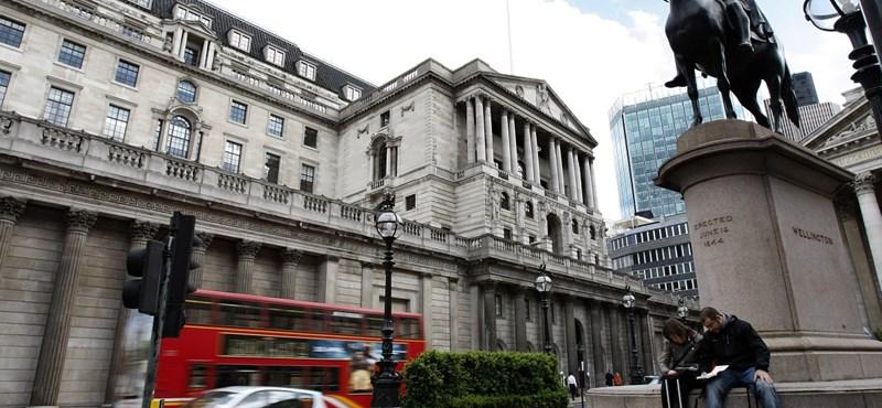 Bank of England: 14 százalékkal zuhanhat idén a brit gazdaság