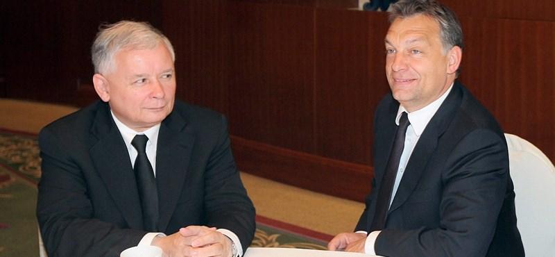 Nedecen tárgyal Orbán és Kaczynski