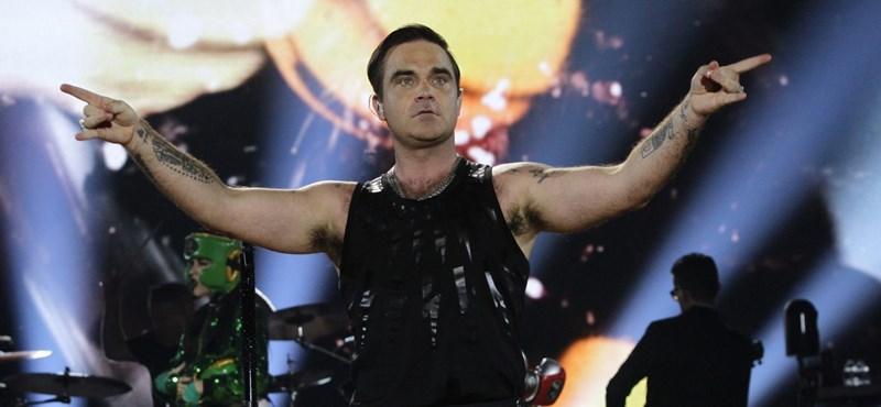 Robbie Williams nyitja a világbajnokságot