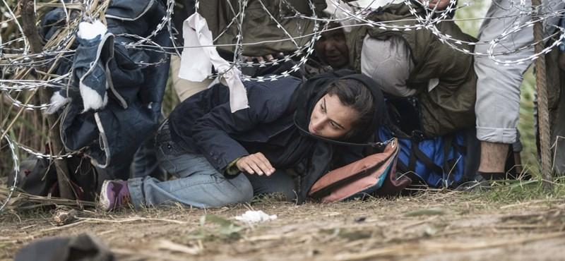 Végre kapnak enni a menekültek a tranzitzónákban