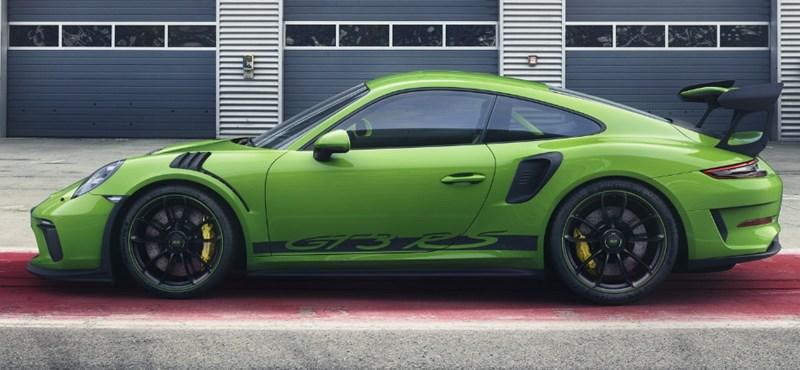 Radikálisan sportos: 550 lóerős lehet az új Porsche 911 GT3 RS