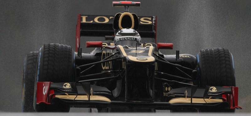 Räikkönen profitál Maldonado büntetéséből Spában