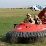 Újdonság: légpárnás pilótákat képezhetnek - fotó