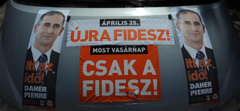 Medián: még több ember állt a Fidesz mellé