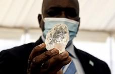 Óriási drágakövet bányásztak ki Botswanában