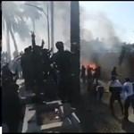 Tüntetők törtek be az Egyesült Államok bagdadi nagykövetségére